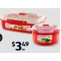 Sistema Microwave Container $3.49; Glass Storage Container 3pc Set $9.99; Multi-Purpose Cupboard $129 etc. @ ALDI [Starts Sat 8th Aug]
