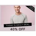 MYER - Daily Deals: 30% Off Women's Sneakers & 40% Off Men's Sleepwear - Today Only