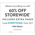 Snapfish - Everything on Sale: 60% Off Storewide (code)! Today Only