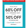 Snapfish - Flash Sale: 50% Off Storewide / 60% Off Orders $49+ (code)! Today Only