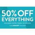 Snapfish - Flash Sale: 50% Off Everything (code)! Today Only