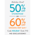Snapfish - 50% Off Storewide / 60% Off Orders RRP $49+ (code)! Today Only