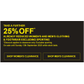 Harris Scarfe - Take a Further 25% Off Already Reduced Women's & Men's Clothing & Footwear