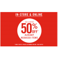 Sportsgirl - Take a Further 50% Off Already Reduced Items - Bargains from $1