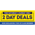 Spotlight - 2 Days Weekend Sale: Up to 75% Off Clearance Items (In-Store & Online)