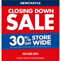 Spotlight - Closing Down Sale: 30% Off Storewide - In-Store Only (Newcastle, NSW)