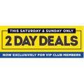 Spotlight - 2 Days Weekend Sale: Up to 80% Off Clearance Items (In-Store & Online)
