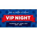 Spotlight - Celebration 2021 VIP Night - Thursday 29th April 6 PM-9 PM