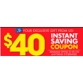 Spotlight - $40 Off on Orders of $100 & More (Printable Coupon)! Starts Wed 12th May