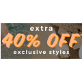 SurfStitch - 3 Days Sale: Extra 40% Off Up to 80% Off Sale Styles (code)