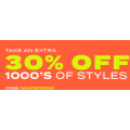 SurfStitch - 48 Hours Flash Sale: Extra 30% Off on Up to 80% Off Clearance Items (code) e.g. NIKE Sb Zoom Janoski Mid Crafted Shoe $59.5 (Was $170) etc.