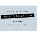 Myer - Daily Deal: 50% Off Men's Fashion Clothing - Today Only