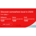Qantas - Discover Australia Sale: Domestic Flights from $115 e.g. Sydney to Gold Coast $115