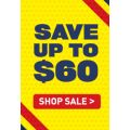 Half Yearly Clearance At The Athletes Foot - Up To $60 Off