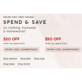 Target - Spend & Save Offers: $20 Off $100 & $50 Off $200 Orders (code)! Online Only