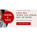 Target - 4 Days Sale: $20 Off Orders - Minimum Spend $80 (code)! Online Only