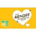 Tigerair - Love Australia Sale: Up to 40% Off Domestic Flight Fares e.g. Gold Coast to Sydney $41