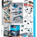 Assorted Hand Tools $4.99; Stacking Bin $12.99; Dolly Trolley $14.99; Saw Sets $14.99 etc. @ ALDI [Starts Sat 23rd Jan]