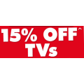 The Good Guys - Thursday Special: 15% Off TVs (code) - Starts 12 PM Today