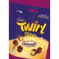 7-Eleven - 3 x 110g Twirl Caramilk Bites $10