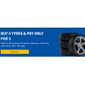 Tyroola - Buy 3 Get 1 FREE Austone, Powertrac, Jinyu Tyres! Valid until 31st July 2021