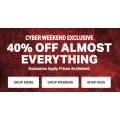 Under Armour - Cyber Weekend Sale: 40% Off Almost Everything