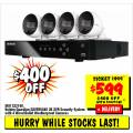 JB Hi-Fi - $400 Off Uniden Weatherproof Security System, Now 599 (code)