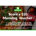 Menulog: Get a FREE $10 Voucher With Any Pizza + Coke Order