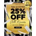 House - Extra 25% Off Knife Range (Code)