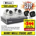 JB Hi-Fi  - $250 Off Swann 6 Camera Security System, Now $399 (Sign-Up Required)