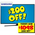 "Samsung 55"" UHD TV $1098 @ JB or $1088 ($200+ off ) @ Binglee"