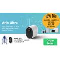 Wireless 1 - 10% Off Arlo Ultra & Arlo Pro 2 Home Security Camera + Bonus Arlo Audio Doorbell (code)