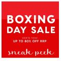 Peter's of Kensington - Boxing Day Sale 2016: Up to 80% Off Storewide + Free Click&Collect