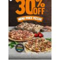 Domino's - 30% Off Pizzas (code)! 2 Days Only