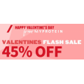 MyProtein - Valentine's Day: 45% Off Everything (code)