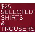Van Heusen - Selected Shirts & Trousers $25 (code)! Usually $69.95 - $99.95