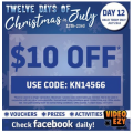 Video Ezy - $10 Off Movie Rental (code)! Today Only