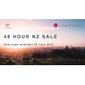 Virgin Australia - 24 Hours New Zealand Flight Frenzy: Fly from $377 Return