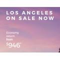 Virgin Australia - U.S.A Flight Sale: Up to 30% Off International Return Flight Fares
