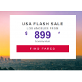 Virgin Australia - U.S.A Flight Sale: Up to 35% Off International Return Flight Fares