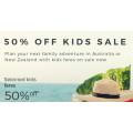 Virgin Australia - 50% Off Domestic & International Flight Fares for Kids