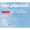 Virgin Australia - Click Frenzy 2019: Up to 40% Off Domestic & International Flights