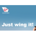 Virgin Australia - Just Wing It Sale: 10% Off Single & 20% Off Companion Domestic & Trans-Tasman Flights! 72 Hours Only