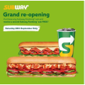 Subway - Grand Opening: Buy One Footlong Sub Get One Free @ Stafford, North Brisbane (QLD)! [Today Only]