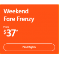 Jetstar - Weekend Fare Frenzy: Domestic Flights from $37 + Fly to New Zealand $216; Indonesia $218 RTN etc.