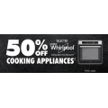 The Good Guys - 50% Off Whirlpool Cooking Appliances e.g. Whirlpool 60cm Ceramic Cooktop $174.5 (Was $499) & More