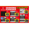 The Good Guys - Cooking Clearance Sale: Up to 50% Off e.g. Westinghouse 60cm Gas Cooktop $384 (Was $829) & More