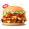 Hungry Jacks - Whisky River Whopper Burger $10.15 (Nationwide)
