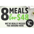 Youfoodz - 8 Meals for $48 Delivered (code)! Save $31.6