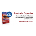 SAVE $38.99 on Discover Australia Travel Guide in Full Color - ONLY $10!